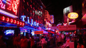 Soi Cowboy is the most famous of Bangkok red light districts