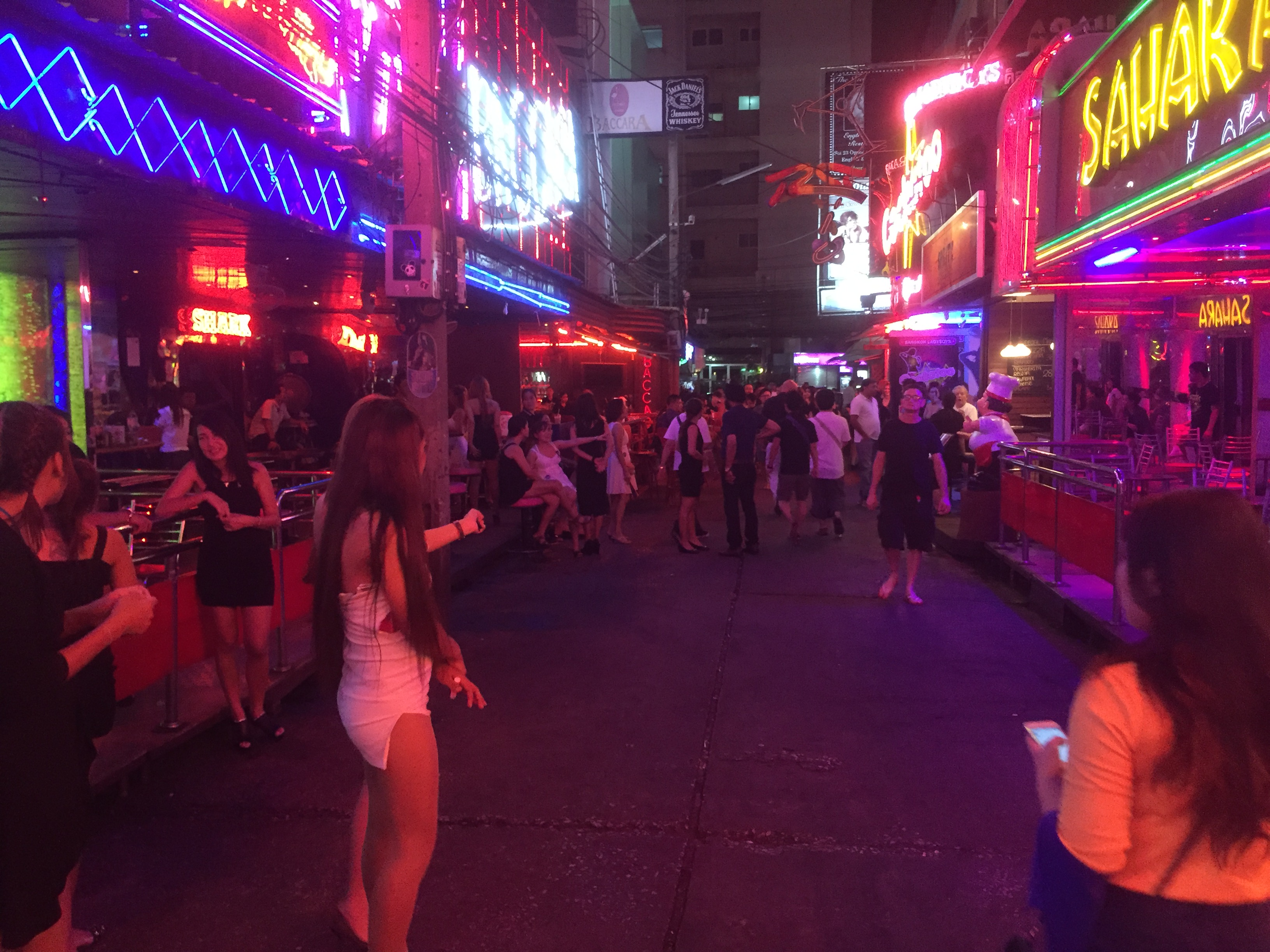 The neon lights are turned back on at Soi Cowboy