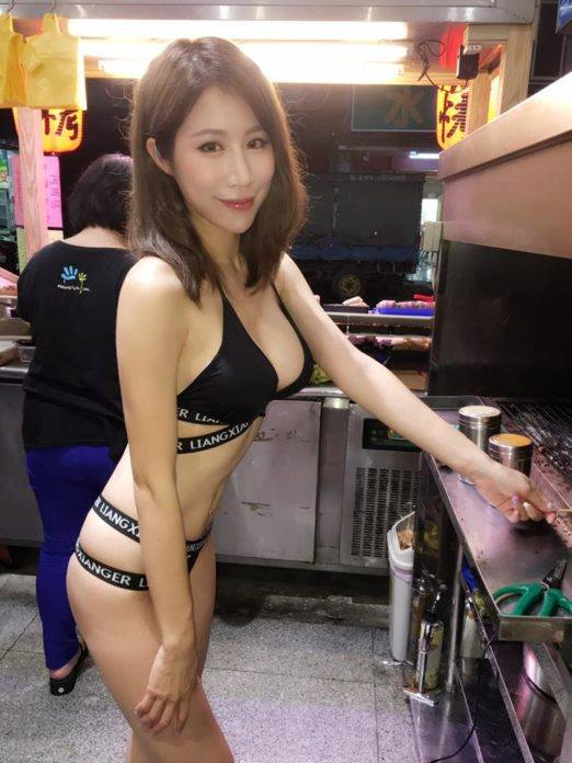 This sexy street food seller in Taiwan sent the internet crazy