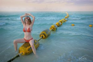 jessie vard in the sea