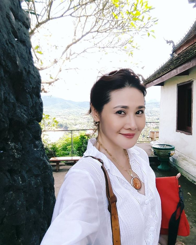 Yoko at her home in Thailand