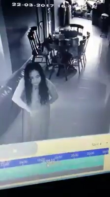 MAID POSSESSED BY EVIL SPIRITS CAUGHT ON CAMERA