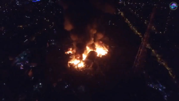 fire in Mandaluyong City, Philippines, last November