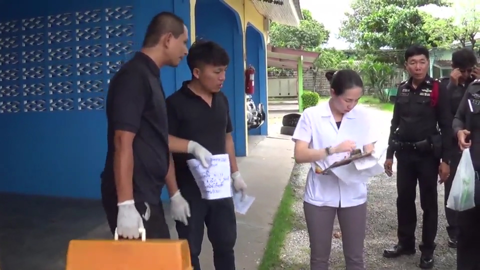 Staff at the love motel in Pattaya where motorcycle taxi rider Chidsut Sutang died of a heart attack after sex with a hooker