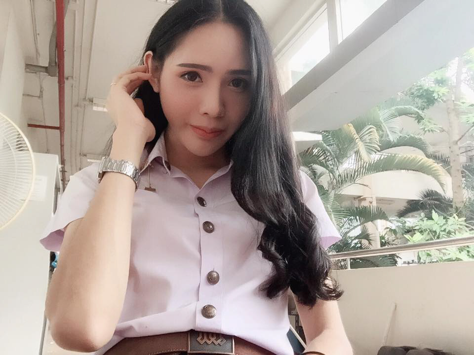 Thai ladyboy Jiratchaya Kampoon, 22. who died of a collapsed lung while having a boob job at a ''backstreet'' unlicensed clinic