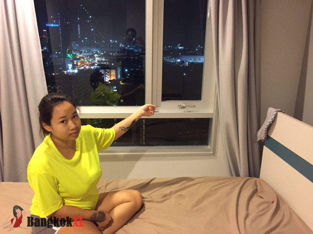 A heartbroken mother gave birth then threw her newborn baby from a 17th floor window - because her married boyfriend left her to return to his family. Netchanok Nokyungtong, 20, (PICTURED) was devastated when her cheating 40-year-old boyfriend from South Korea found out she was pregnant and left her. She went into labour unexpectedly yesterday (Tue) afternoon in Pattaya, Thailand, and gave birth to a boy alone inside her room in the high-rise apartment block. But a horrified workman at a room on the fourth floor told police that he saw a large object fall past his window and hit the ground at around 5pm. He ran down to check the package and was ''shocked'' to find the youngster. Police arrived and found the bloodied tot wrapped in a green plastic bag with the umbilical cord still attached. His heart was not beating. Officers checked CCTV and later arrested Netchanok who admitted throwing the baby out the window because her boyfriend ''Kim'' from South Korea, already had a family and returned to them after finding out she was pregnant. She told police that she gave birth ''unexpectedly'' in the bathroom and opened the window and dropped her son outside in the Banglamung district of the city. Police Colonel Apichai Khemphet, head of Pattaya Police, said Netchanok admitted killing the girl and would be prosecuted after all the evidence had been gathered.SEE VIDEO DESK AND WIRE FOR FULL COPY