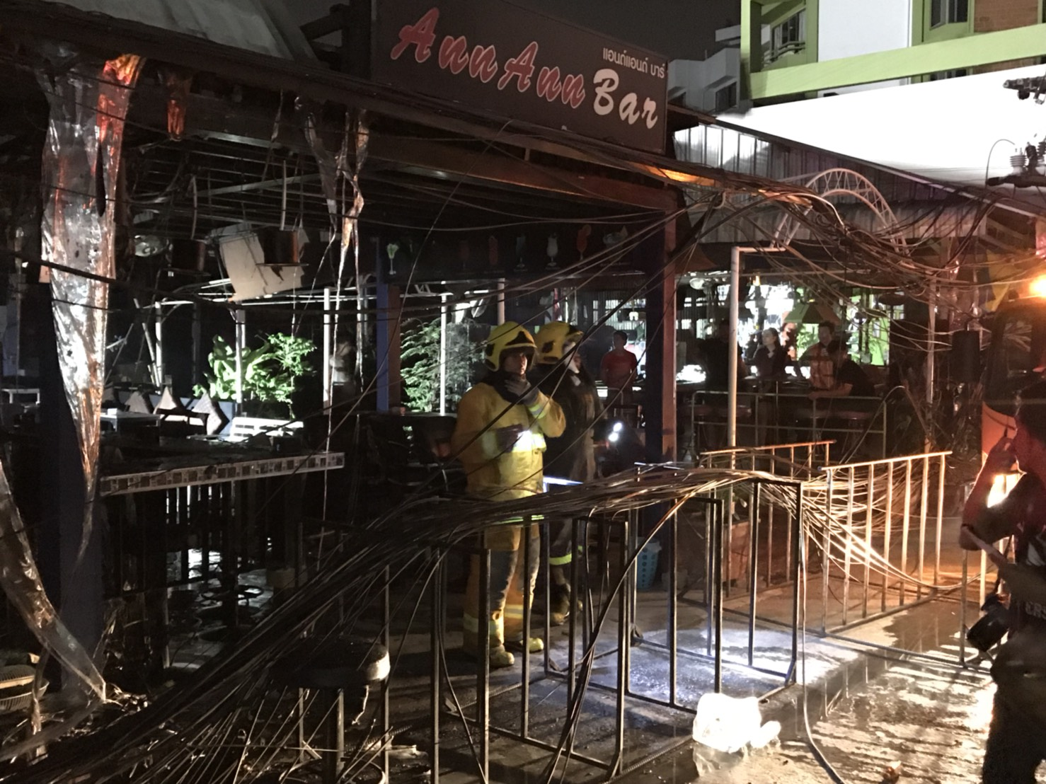 Pattaya Walking Street fire