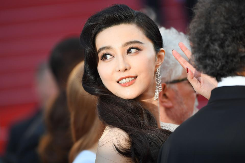 The real Fan Bingbing, a well-known Chinese actress