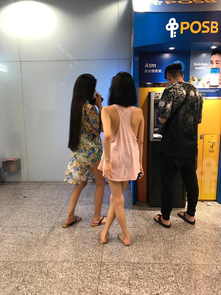 Ashley Garcia causes outrage with skimpy dress in Singapore